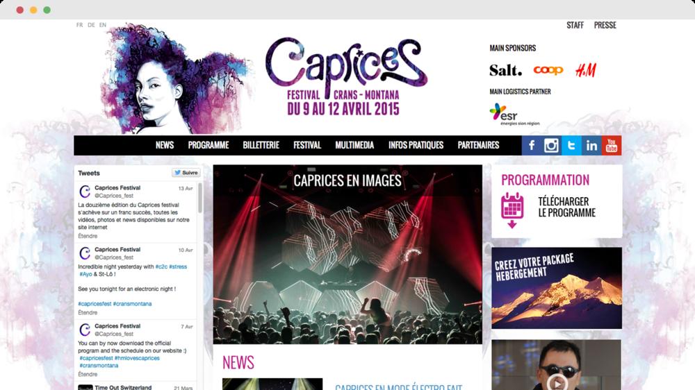 Caprices Festival 2015