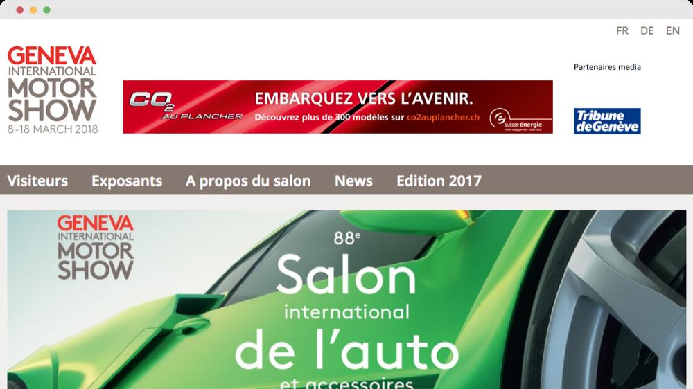 88ème Salon International de l'auto 2018