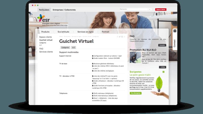 Guichet virtuel